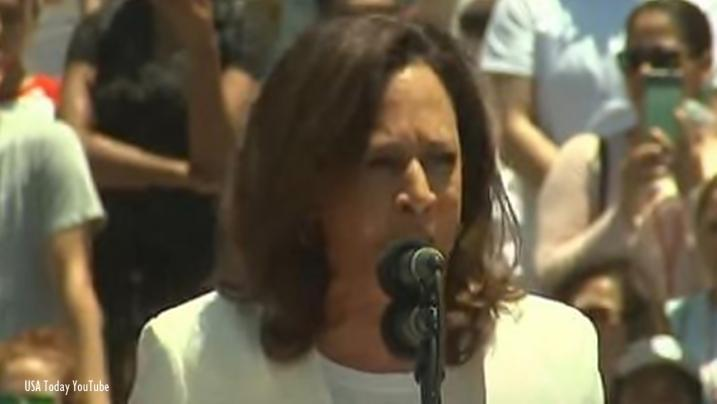 Democrat Kamala Harris joins in the contest for president in 2020