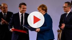 Ad Aquisgrana Merkel e Macron firmano il nuovo patto per l'Europa