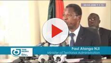 Paul Atanga Nji reçoit les vœux de son ministère