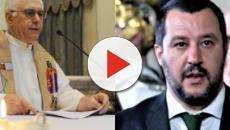 Don Farinella inveisce ancora contro il ministro dell'interno Matteo Salvini