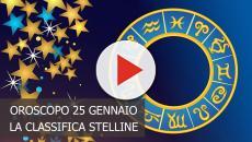Oroscopo del 25 gennaio, la classifica stelline: Bilancia top, Ariete flop