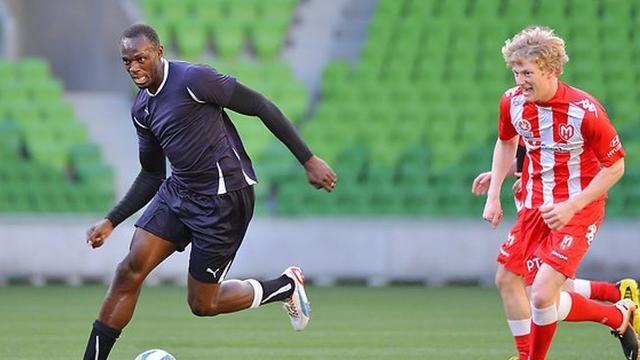 Usain Bolt prend sa retraite de footballeur