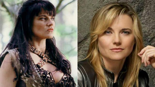 Antes e depois do elenco de 'Xena: A Princesa Guerreira'