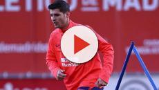El Atlético de Madrid presenta a Morata como su refuerzo invernal