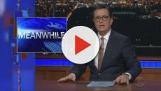 Meanwhile: In other news from Stephen Colbert