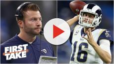 Sean McVay and Jared Goff got schooled by Brady and Belichick