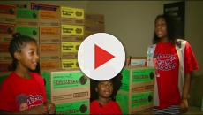 Kayla 'Kiki' Paschall viral rap Money by Cardi B, sellls out stock of Girl Scout cookies