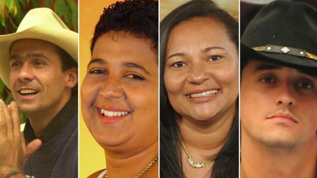 Alguns dos ex-BBBs que morreram ou que passaram por dificuldades