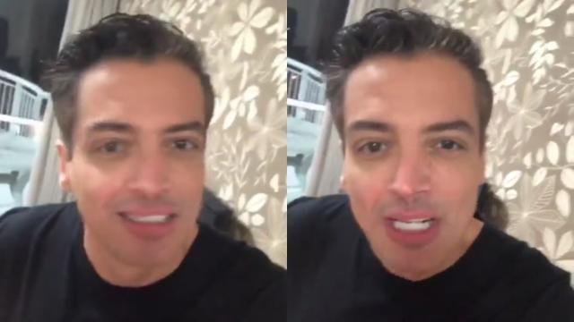 Leo Dias tem recaída de drogas e no 'fundo do poço' se afasta novamente da TV