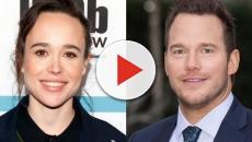 Ellen Page cuestiona a Chris Pratt por dar promoción a una iglesia antigay