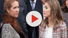 Bronca entre la reina Letizia y la infanta Elena por la cuestión del status social