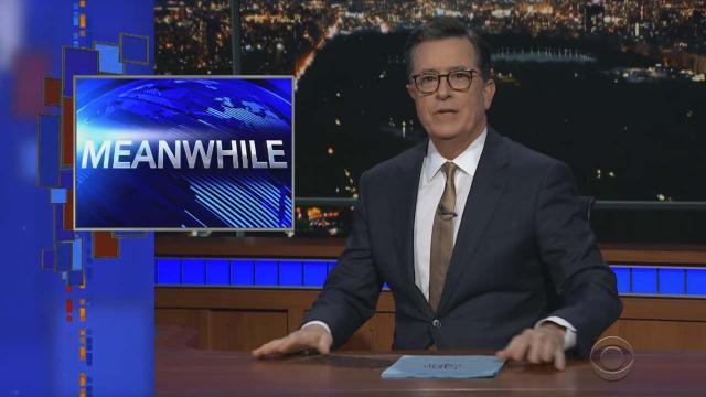Stephen Colbert's Meanwhile gives a taste of the hidden news