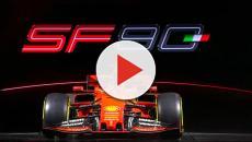 Ferrari apresenta seu carro para 2019 com nova pintura