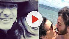 Em Valentine's Days, Fátima e Bonner postam fotos ao lado de companheiros