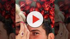 Postagem de Katy Perry levanta suspeita de noivado com ator