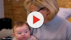 First Time Mum: Ferne McCann juggles her time with one-year-old Sunday