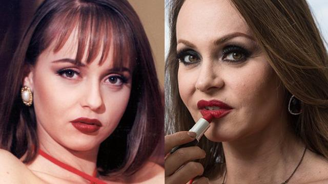 Antes e depois do elenco de 'A Usurpadora'