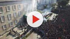 Albania, opposizione in piazza a Tirana contro il premier Edi Rama
