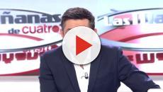 Javier Ruiz dice adiós a las Noticias Cuatro en directo