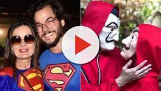 As fantasias de Fátima Bernardes e Túlio Gadêlha para o carnaval 2019