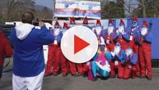 German town vies for Guinness World Record for most people dressed as Smurfs