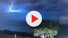 Australia: la polizia filma strano oggetto volante durante temporale, 'Non siamo soli'