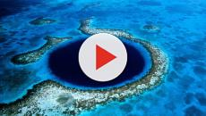 Una compagnia di sottomarini ha esplorato l'interno del misterioso Blue Hole del Belize