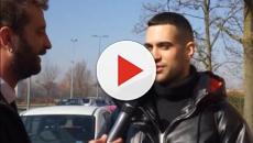 Le Iene, Mahmood canta 'L'Italiano', fa un saluto ad Ultimo e risponde a Matteo Salvini