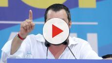 Salvini: due ragazzi non apprezzano il suo operato e vengono denunciati