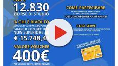 Regione Campania, è possibile richiedere la borsa di studio del valore di €400