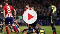 Atletico-Juve 2-0, bianconeri sempre eliminati dopo una sconfitta con 2 reti al passivo