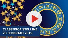 L'Oroscopo di sabato 23 febbraio, la classifica stelline: Scorpione top, Leone flop