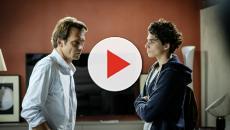 'Non mentire': Alessandro Preziosi piange durante le riprese