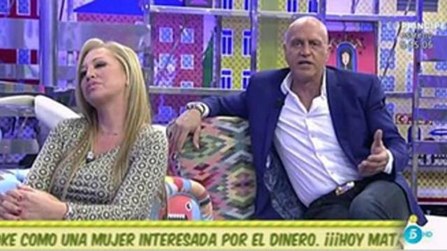 Kiko Matamoros se posiciona en contra de Belén Estaban y con Toño Sanchís