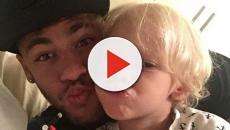 Neymar Jr. publica foto ao lado do filho e faz declaração