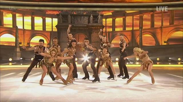 Skating stars battle it out through time in Week 8 of Dancing on Ice 2019