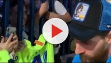 Messi sorprendió en redes sociales luciendo una gorra de Dragon Ball Z