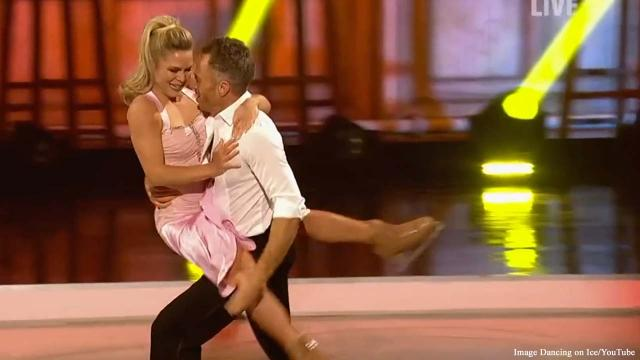 Dancing on Ice 2019 Semi-Final: James heats up the ice Dirty Dancing style