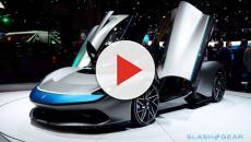 Mahindra unveils world's 'fastest' e-car Battista at Geneva Motor Show