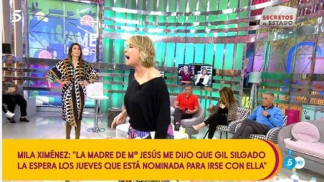 Con un: 'Adiós borracha', Gil Silgado insulta a Mila Ximénez