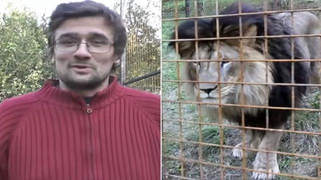 Após ser atacado por leão que criava no quintal de casa homem morre na República Tcheca