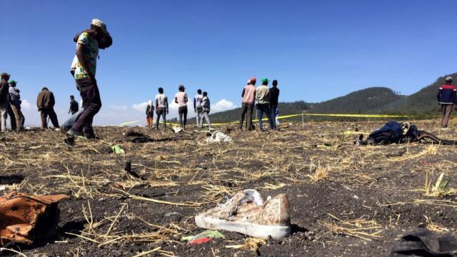 Un accidente aéreo deja 157 muertos en Etiopía