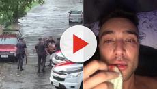 Vídeo mostra Guigo Kieras sendo agredido por PMs durante carnaval de SP