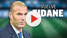 Zidane vuelve como entrenador del Real Madrid
