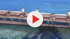 Déjà 60 tonnes de pétrole déversées sur le plus grand atoll corallien surélevé du monde