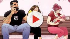 Artista cria quadrinhos baseados na sua vida real com a esposa e viraliza
