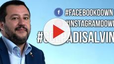 Salvini ironizza: 'Facebook down colpa mia' e viene travolto dagli sfottò su Twitter