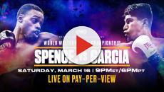Boxe, Spence vs Garcia: sabato notte si combatte per il Mondiale IBF dei pesi welter
