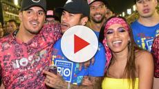 Anitta é flagrada em encontro romântico com Medina, após admitir beijos com Neymar