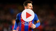 Lionel Messi inscrit un doublé et répond à CR7 face à l'OL